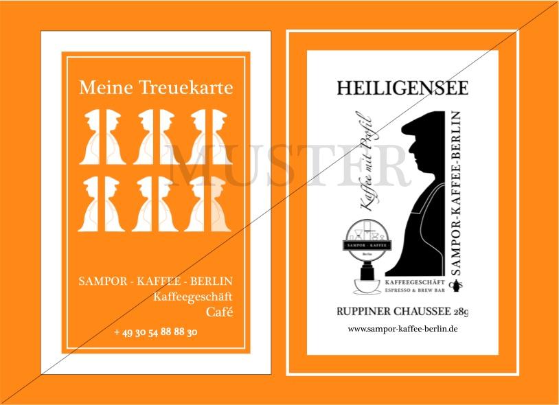 Bonuskarte, SAMPOR-KAFFEE-BERLIN , Café