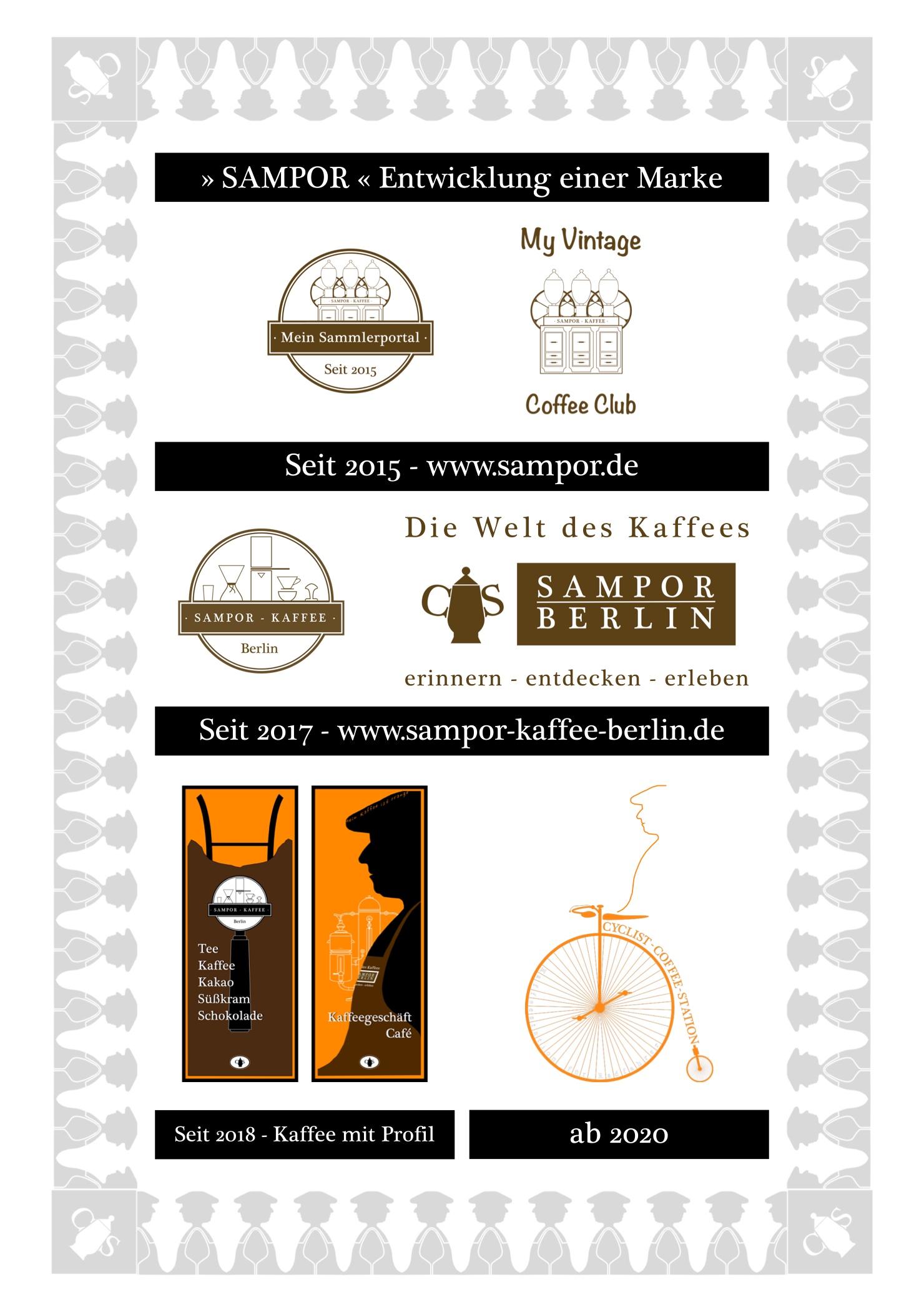 Marke, Branding, SAMPOR, Berlin, Kaffee, Tegel, Kaffee mit Profil