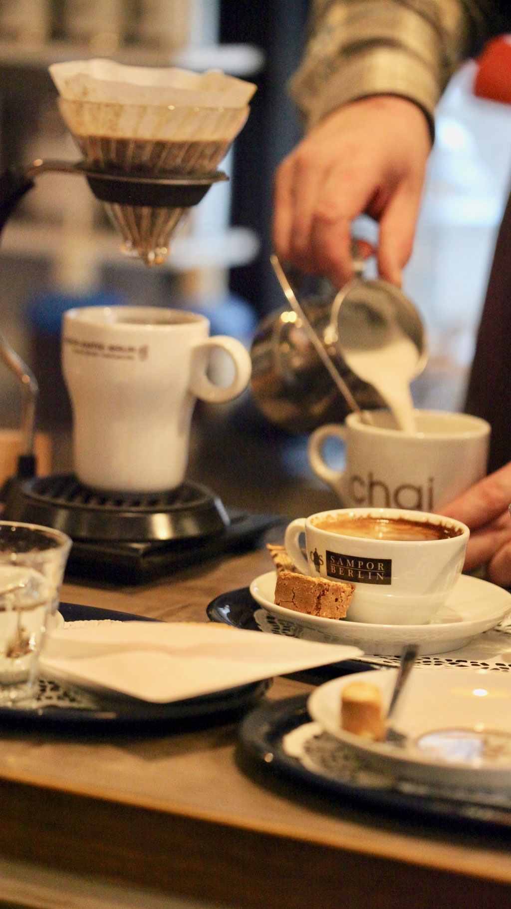 SKB / Kaffee mit Profil · Kaffeezubereitung · Latte Art