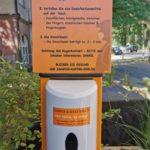 Handdesinfektion - Hygienekonzept SAMPOR-KAFFEE-BERLIN