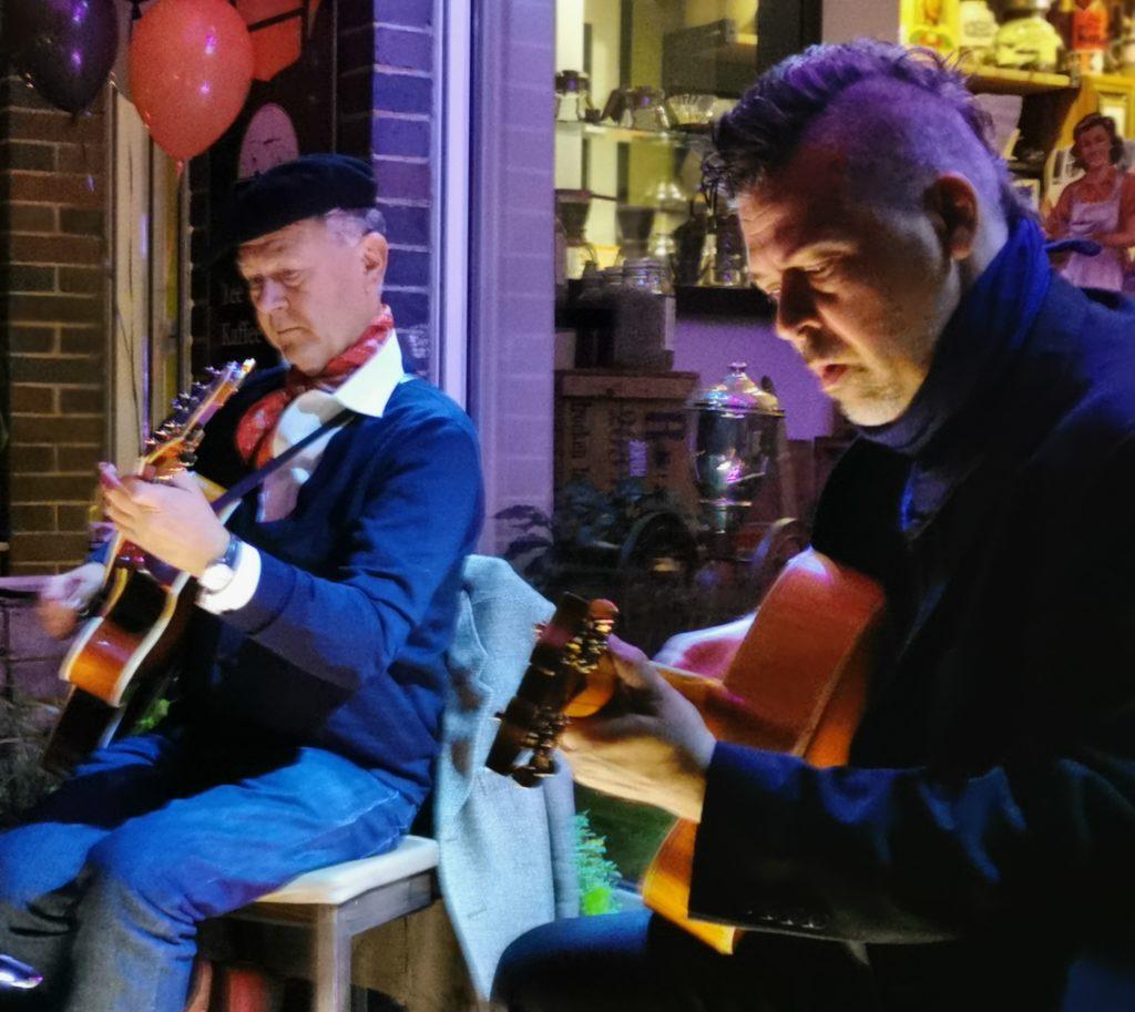 Gitarresque auf der SAMPOR-KAFFEE-BERLIN - Tag des Kaffees 1. Oktober