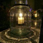 Terrassengestaltung zum Konzert - Ambiente, Kerzen & Laternen