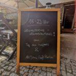 Kundenhinweis auf die Veranstaltung - Tag des Kaffees & 100 Jahre Groß-Berlin