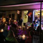 Gitarresque auf der SAMPOR-KAFFEE-BERLIN - Terrasse