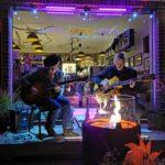 SEVENSTRINGS - GUITAR DUO » gitarresque « im SAMPOR-KAFFEE-BERLIN