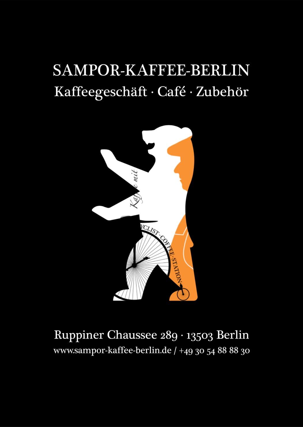 Der Bär als Symbol & Wappentier von Berlin / Kampagne #wirsindeinberlin - AK Kaffee