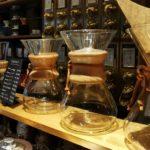 Chemex - Kaffeekaraffe mit integriertem Filter / Filterpapierhalter